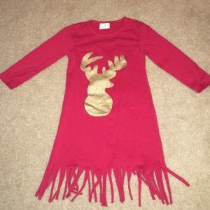 Other - S (2T-4T) Reindeer Christmas Dress